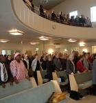 Välfylld kyrka