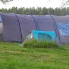 Vissa bodde i troligens Nyhems minsta tält