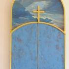 Altartavla skapad 2006 av Monica Strandberg, Ryssby kyrka, Rockneby